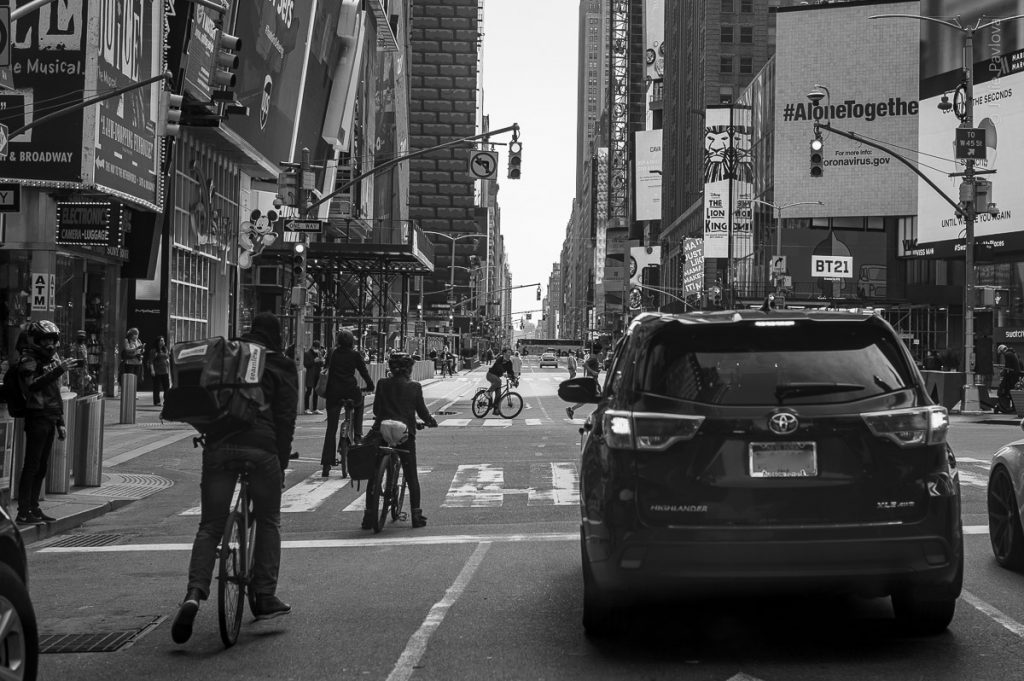 Streets of Manhattan, New York, during COVID-19. (04/26/2020 by Julie Pavlova Photography)