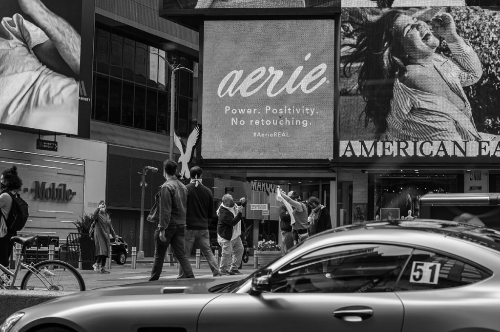 Times Square. Streets of Manhattan, New York, during COVID-19. (04/26/2020 by Julie Pavlova Photography)