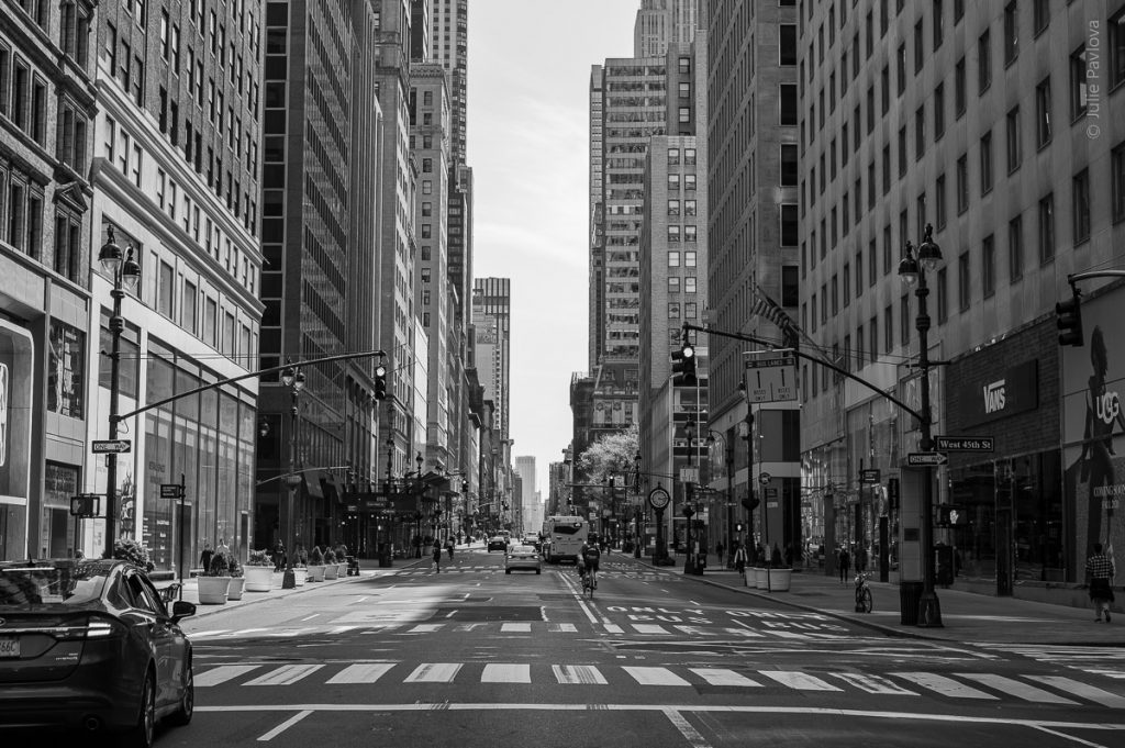 Streets of Manhattan, NY, during COVID-19. (04/26/2020 by Julie PAvlova Photography)