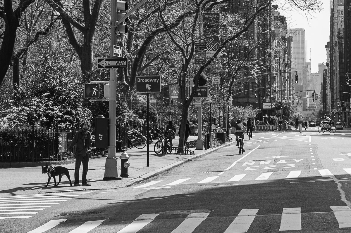 Madison Square Park. Streets of Manhattan, New York, during COVID-19. (04/26/2020 by Julie Pavlova Photography)