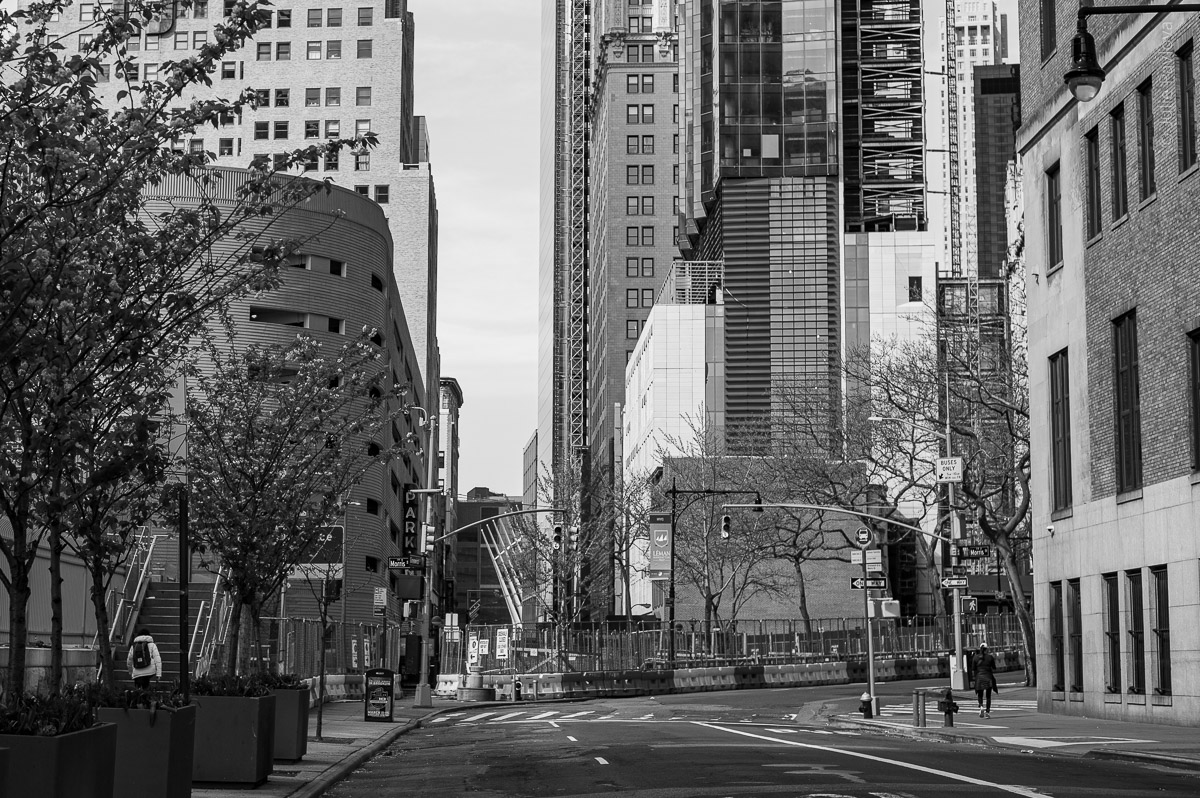 Manhattan, New York, during COVID-19. (04/26/2020 by Julie Pavlova Photography)