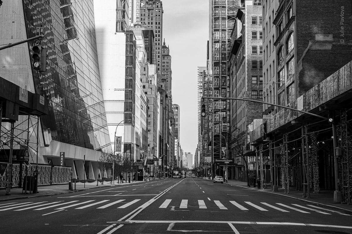 Manhattan, New York, during COVID-19. (04/26/2020 by Julie Pavlova Photography)