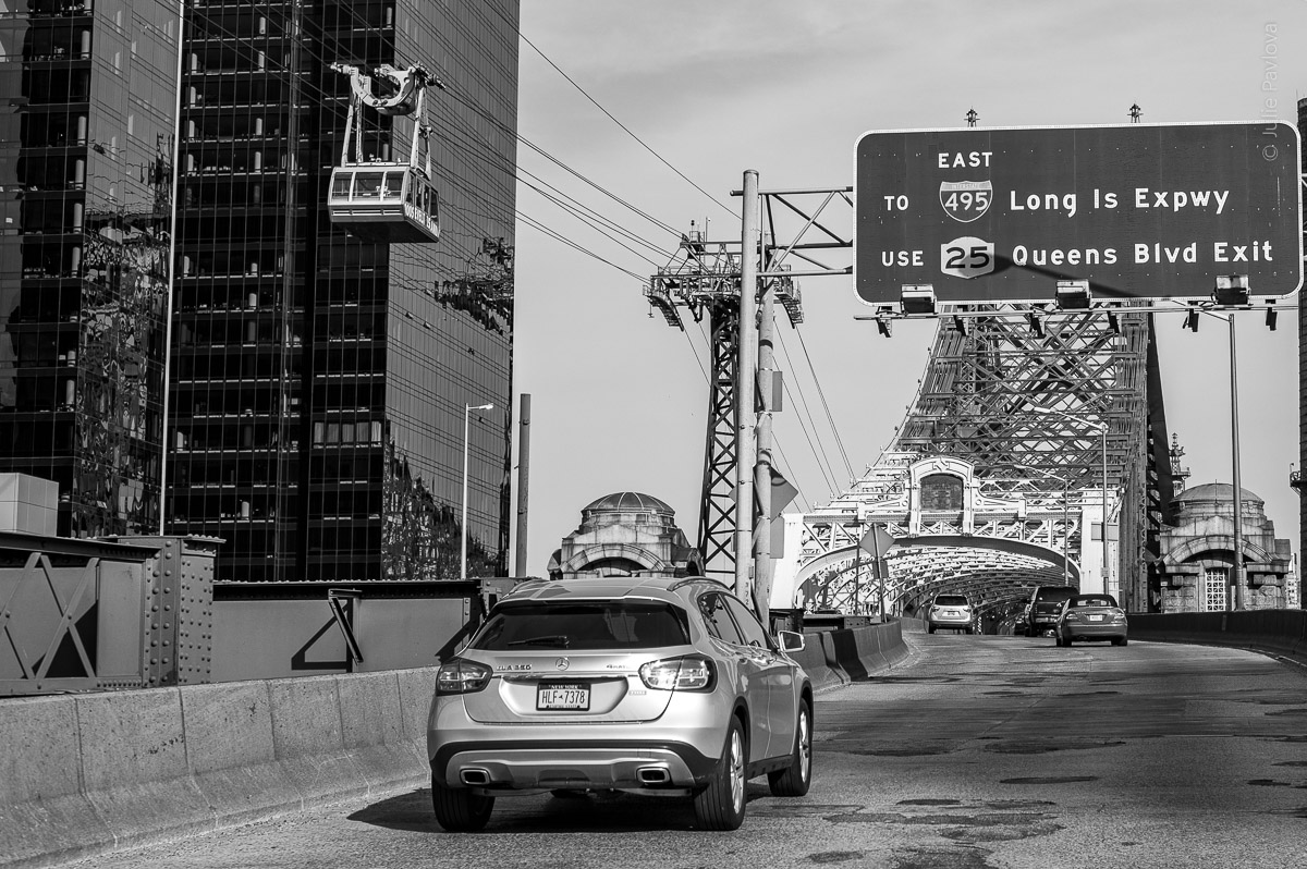 Ed Koch Queensboro Bridge. Manhattan, New York, during COVID-19. (04/26/2020 by Julie Pavlova Photography)