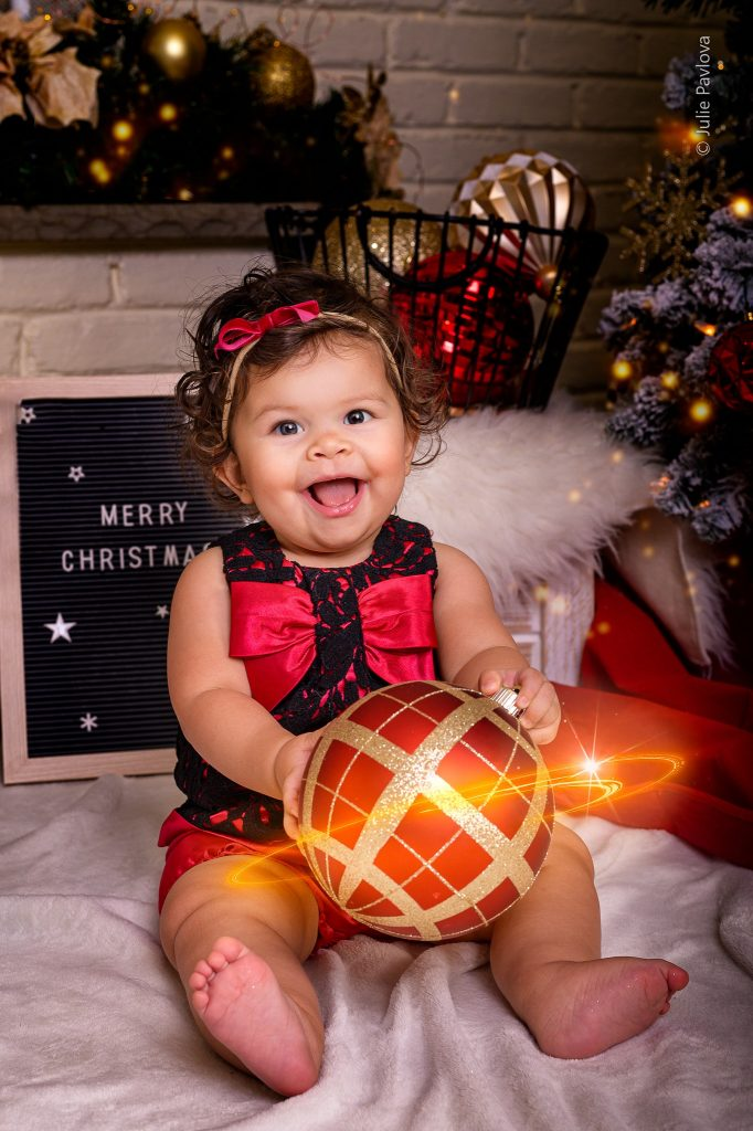 Family Christmas photography session by the best professional photographer in New York City and North Jersey (Bergen County, New Jersey) - Julie Pavlova Photography.