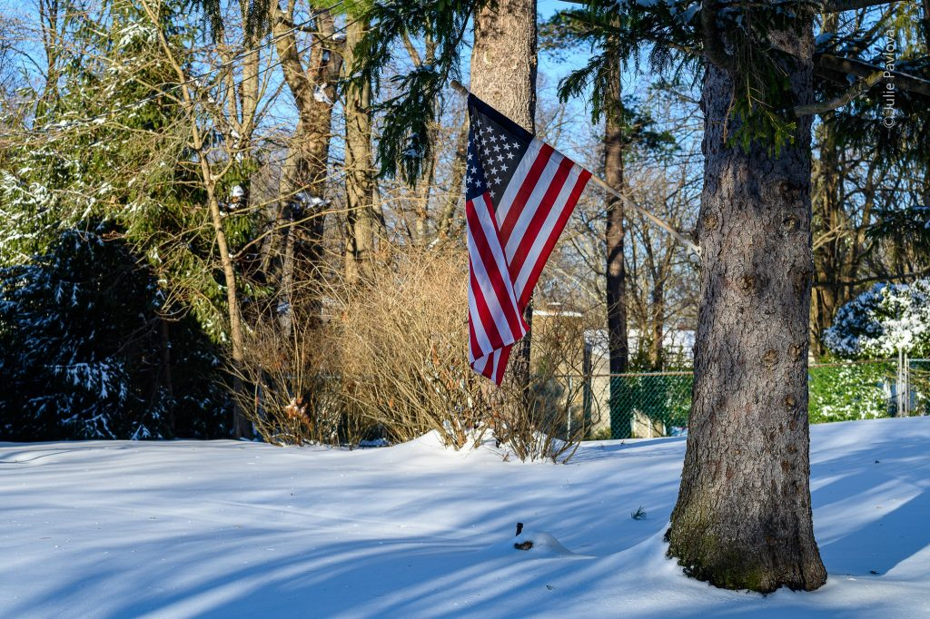 USA flag - Landscape photography by the professional photographer servicing New York City and North Jersey (Bergen County, New Jersey) - Julie Pavlova